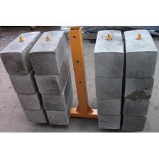 Контргруз для подъемника ZLP (25кг бетонный) 001-1202-1