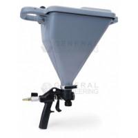 Пистолет-распылитель Graco Hopper Gun предназначен для распыления декоративной штукатурки с абразивом