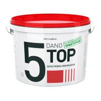 Финишная полимерная шпатлевка Даногипс Dano Jet 5, 5,6 кг, 3,5 л