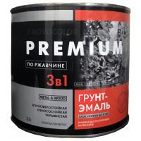 Грунт-эмаль 3 в 1 АЛКИДНО-УРЕТАНОВАЯ (АУ-1156) шоколадная глянц. (1,9 кг)