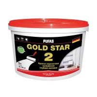 Краска в/д для стен и потолков GOLD STAR 2 (9 л)