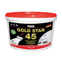 Краска в/д для стен и потолков GOLD STAR 45 (0,9 л)