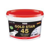 Краска в/д для стен и потолков GOLD STAR 45 (2,7 л)