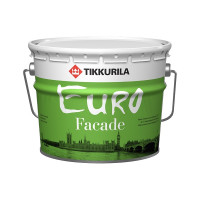 Краска в/д фасадная EURO Fasade КА (9 л)