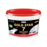 Краска в/д GOLD STAR 7 акрилатная супербелая (2,7 л)