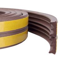 Уплотнитель тип Е коричневый, 2x75 м