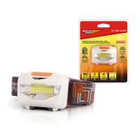 ЯРКИЙ ЛУЧ Фонарь налобный, LED 3Вт, 180Лм, 2 режима (100%, 30%), на 3хААА, LH-180