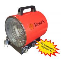 Тепловая пушка электрическая  термостатом  RenzA BGP-3