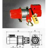 Лебедка Zitrek KDJ-300E 001-5419